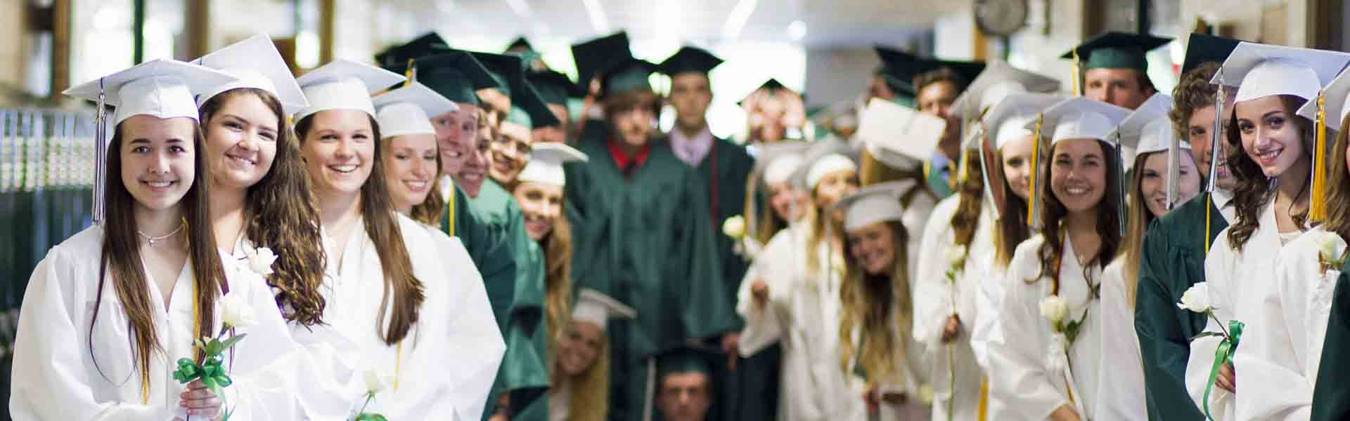 West Catholic Michigan USA Graduation Banner 2019