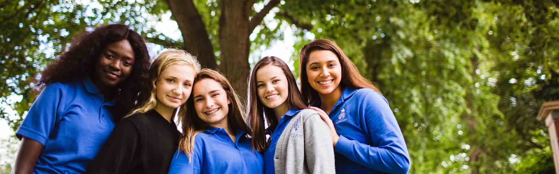 Marian Nebraska USA Girls Banner 2019