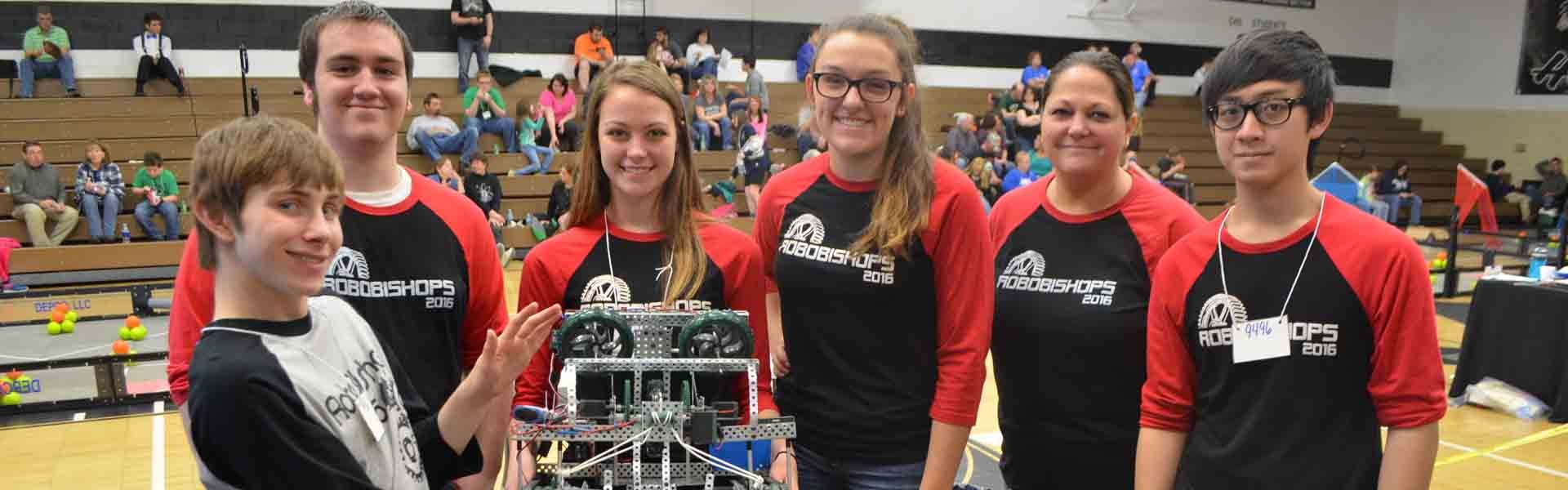 Bishop Rosecrans Ohio Robotic Banner 2019