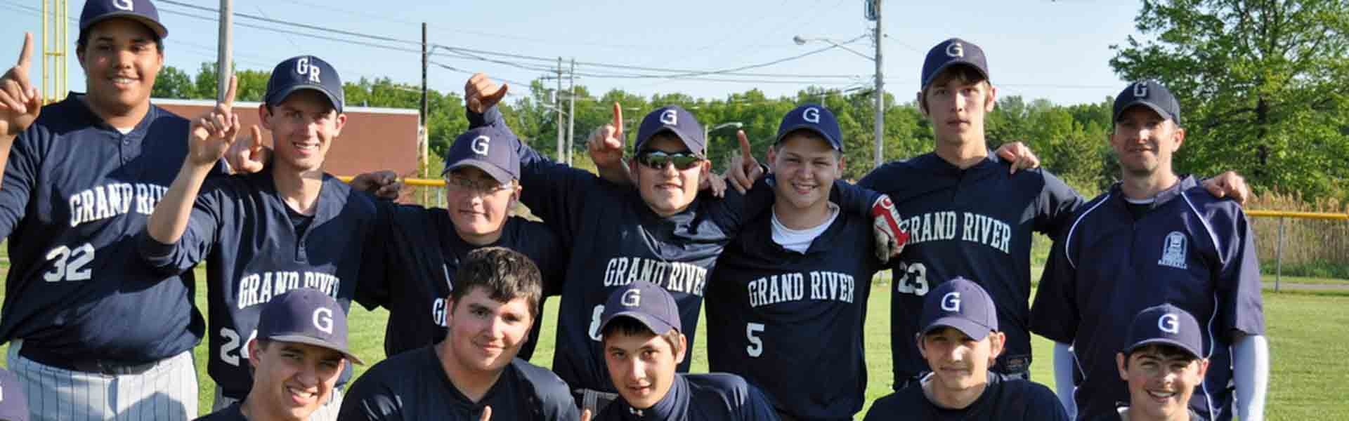 Grand River Ohio USA Baseball Banner 2019