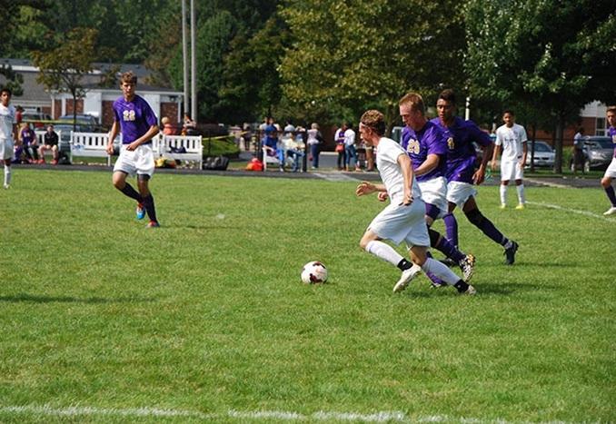 Lake Ridge Academy soccer students