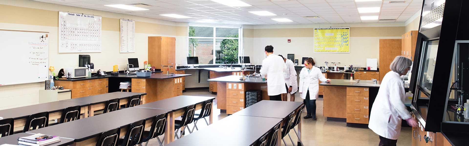 Lake Ridge Academy Chem Lab