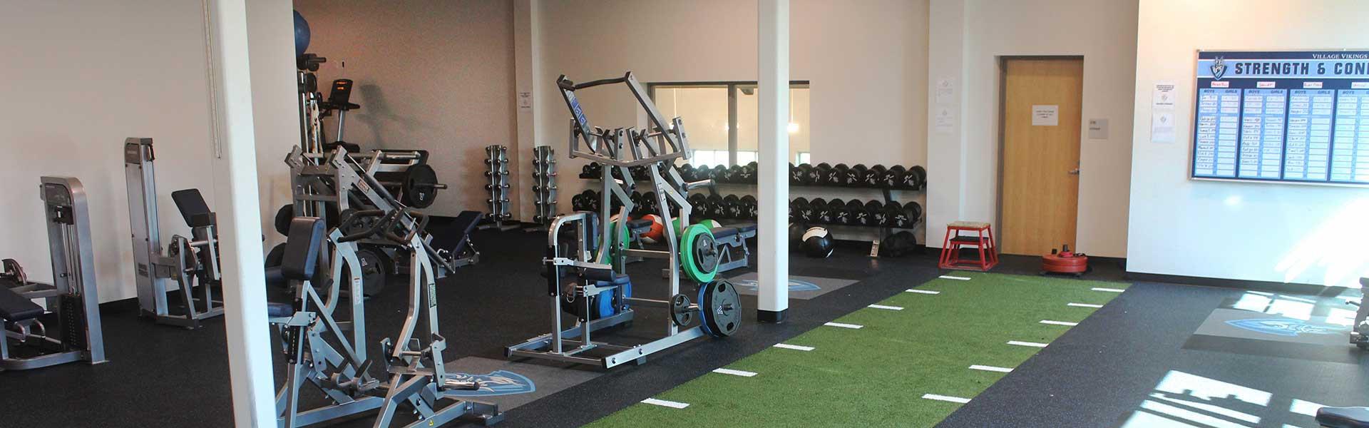 The Village School Texas USA weight room