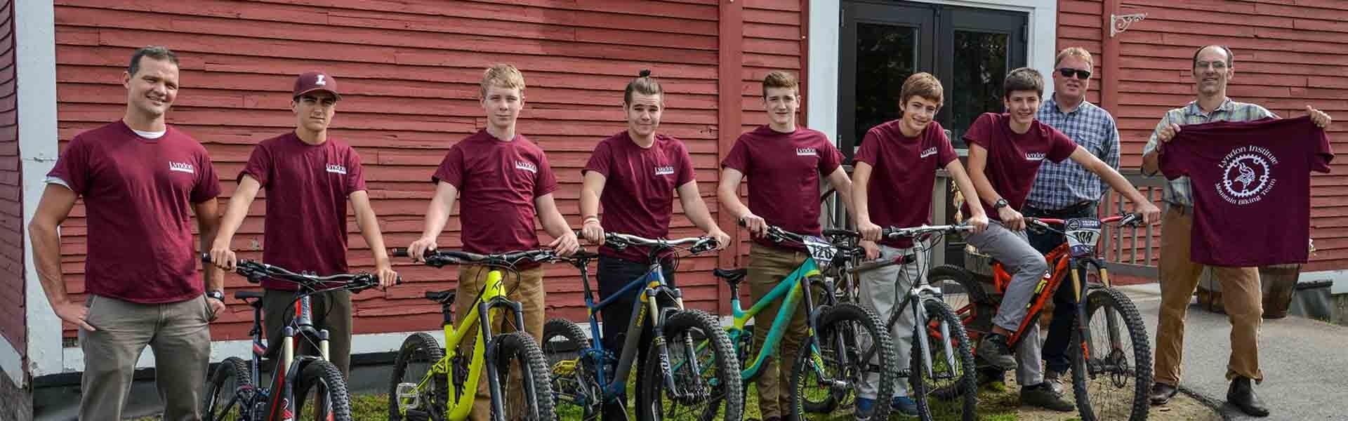 Lyndon Vermont USA Bikers Banner 2019