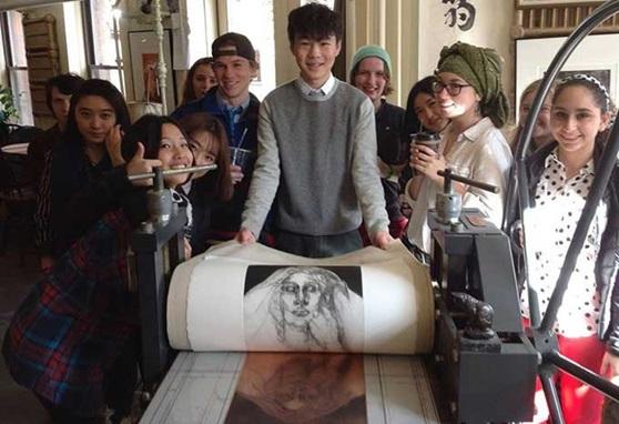 St-Johnsbury-Academy-VT-Printmaking-Gallery-2019