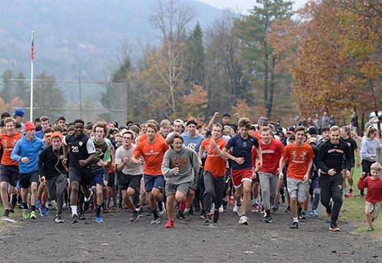 Vermont Academy pumpkin run