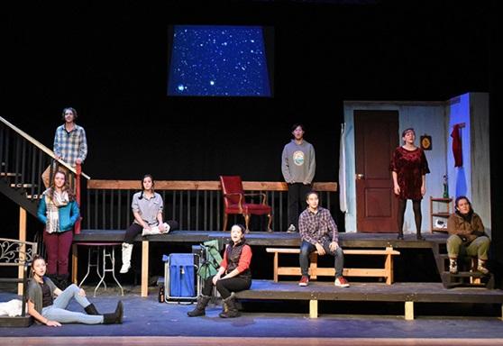 High school drama production Vermont Academy