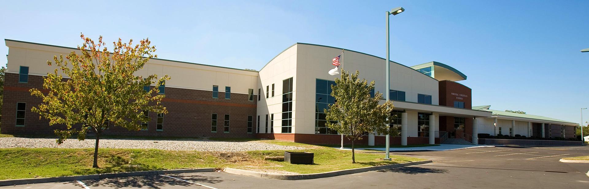 Educatius-NorfolkChristianSchool-USA-Virginia-frontofschool-Banner-2019