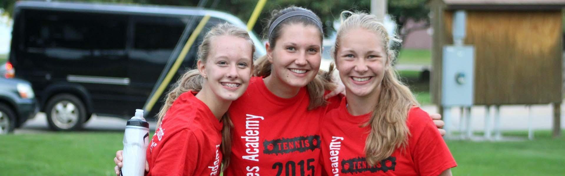 Lourdes Academy Wisconsin USA Girls Banner 2019